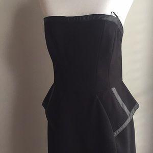 ABS Allen Schwartz Bustier Strapless dress size 10